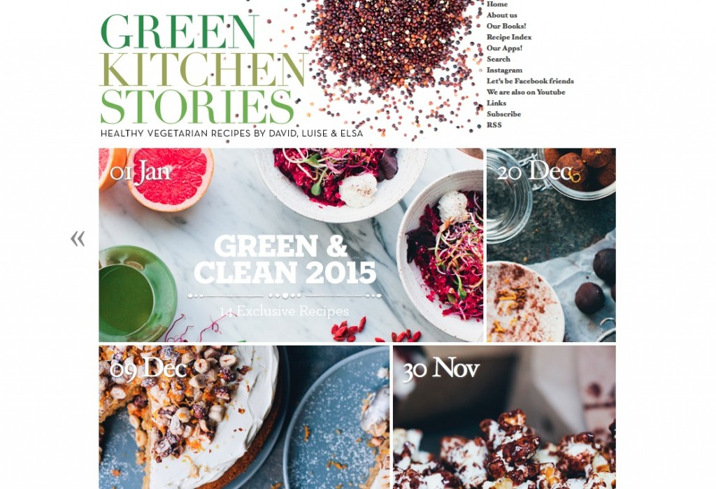 Blogs I Dig: Green Kitchen Stories | One Infinite Life www.oneinfinitelife.com/blogs-i-dig/