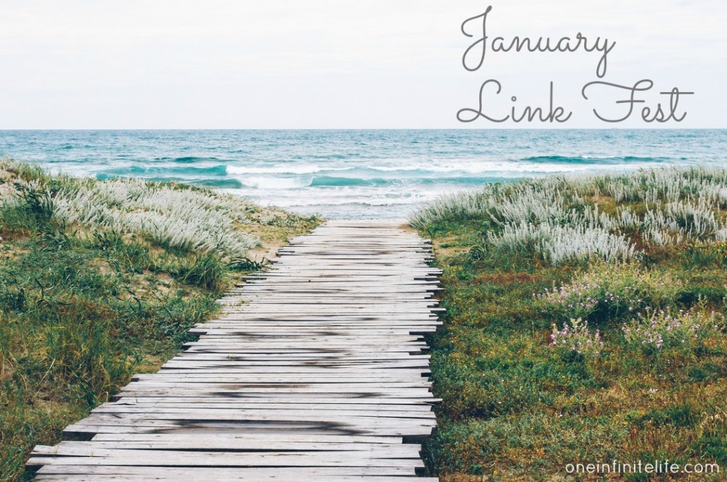 Creating more soulful connections, a delicious (and healthy) mac n cheese recipe, taking social media sabbaticals, why we make unhealthy compromises, how to read more books, rebelling from labels and so much more… www.oneinfinitelife.com/january-link-fest/