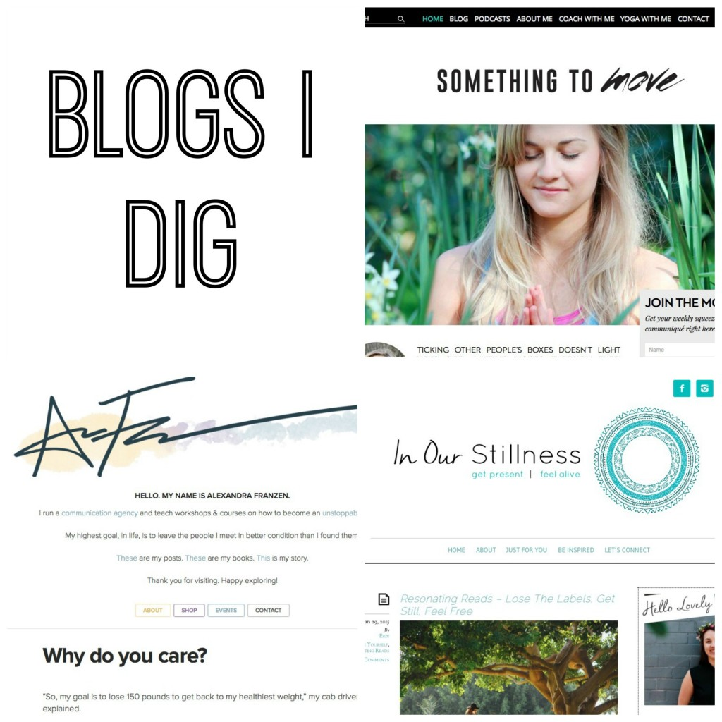 BLOGS I DIG :: featuring 3 incredible women who have super inspiring online spaces www.oneinfinitelife.com/blogs-i-dig-3