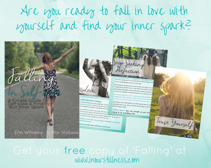 """Falling in Self-Love will powerfully reignite your inner spark. This eBook will help you take your happiness into your own hands and reconnect with your true self. Falling will lovingly guide you through simple (but powerful) lessons that will inspire you to stop seeking perfection, to take better care of yourself, and to embrace your true authentic self. This eBook will inspire you to fall in self-love and will leave you with the powerful feeling that you are enough."""
