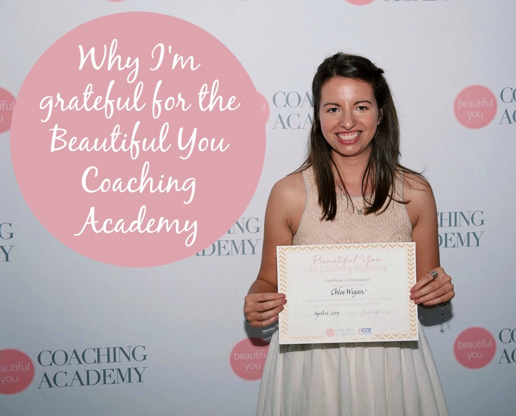 Why I'm grateful for my experience with the Beautiful You Coaching Academy http://oneinfinitelife.com/the-gratitude-diaries-8/