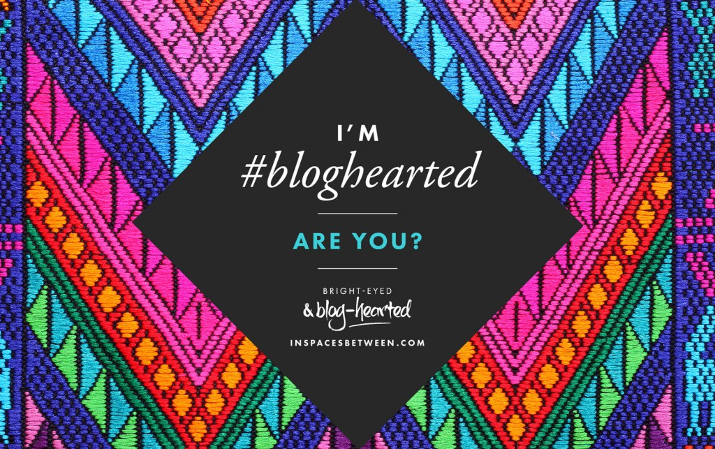 In these interviews we're talking about the most amazing things that have happened since they started blogging, their best advice on what to do when you're letting fear hold yourself back from starting a blog - or pursuing any other dream and what being in the #Bloghearted community FEELS like... http://oneinfinitelife.com/bright-eyed-and-blog-hearted-interview/