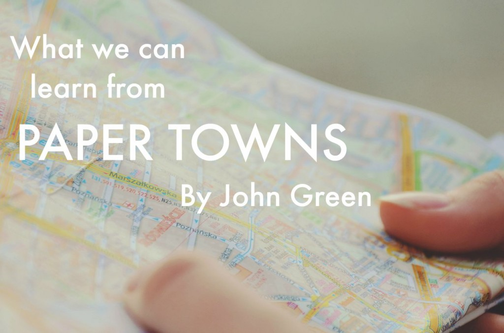 Paper Towns is a brilliant coming of age story by John green that profoundly demonstrates some really complex lessons about the way we relate and connect to each other... http://oneinfinitelife.com/what-we-can-learn-from-paper-towns-by-john-green