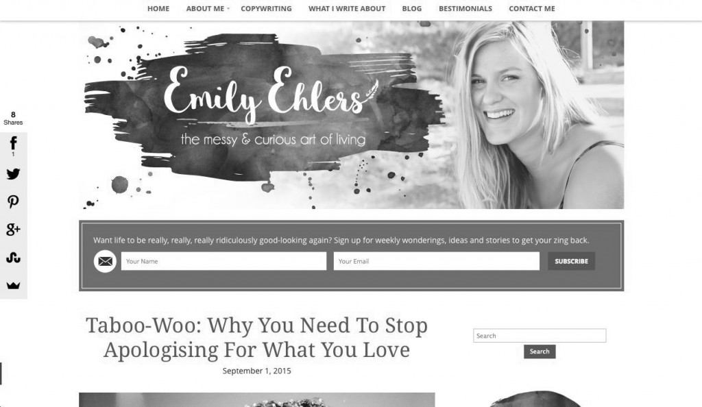 Taboo-Woo: Why you need to stop apologising for what you love, by Emily Ehlers http://www.emilyehlers.com.au/taboo-woo-why-you-need-to-stop-apologising-for-what-you-love-authenticity/