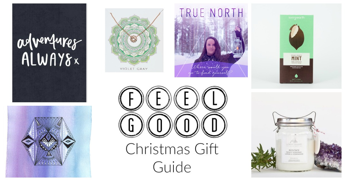 FEEL GOOD CHRISTMAS GIFT GUIDE. With 46 ideas for feel-good, empowering and unique gifts for the awesome humans in your life http://oneinfinitelife.com/christmas-gift-guide/