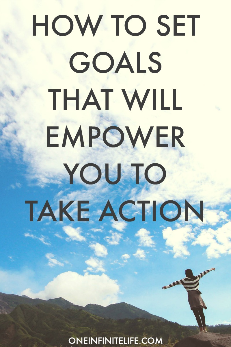 When we feel empowered by our goals we are way more likely to actually take action towards making it happen. Here are 9 ways you can approach setting yourself goals that are more powerful and will empower you to take action (because that's where the magic happens!) plus there's also some FREE and super useful resources to help you do this http://oneinfinitelife.com/how-to-set-goals/