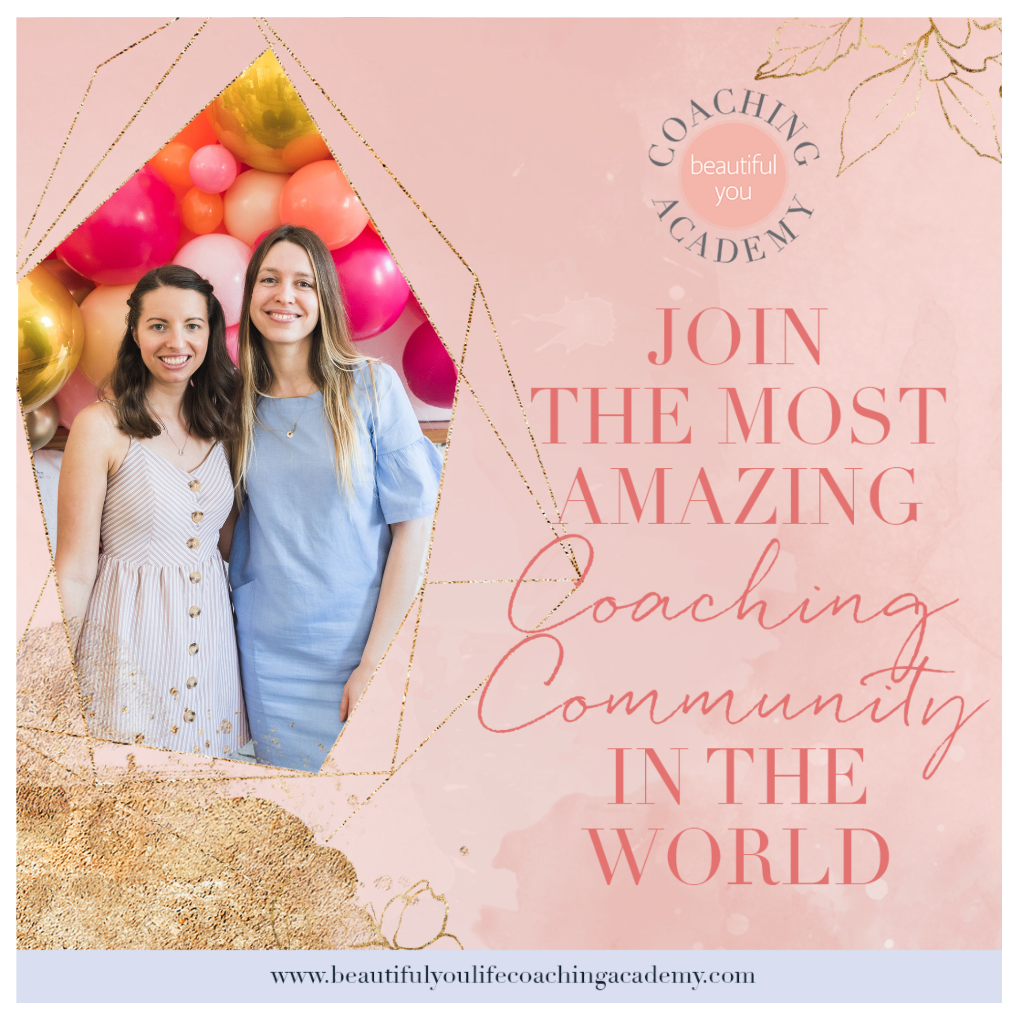 Join the most amazing coaching community in the world https://oneinfinitelife.com/beautiful-you-coaching-academy/