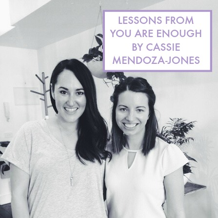 You Are Enough by Cassie Mendoza-Jones is chock full of need-to-know wisdom and written in such a genuine and heartfelt way. It explores topics that are super important and ones that effect us all such as self-worth, overwhelm and perfectionism. It is your permission slip to stop striving, to stop the cycle of burnout, to owning your true worth and to overcome the idea that you are not enough. Click through to read my favourite lessons from the book and to enter the giveaway to win a free signed copy https://oneinfinitelife.com/you-are-enough-by-cassie-mendoza-jones