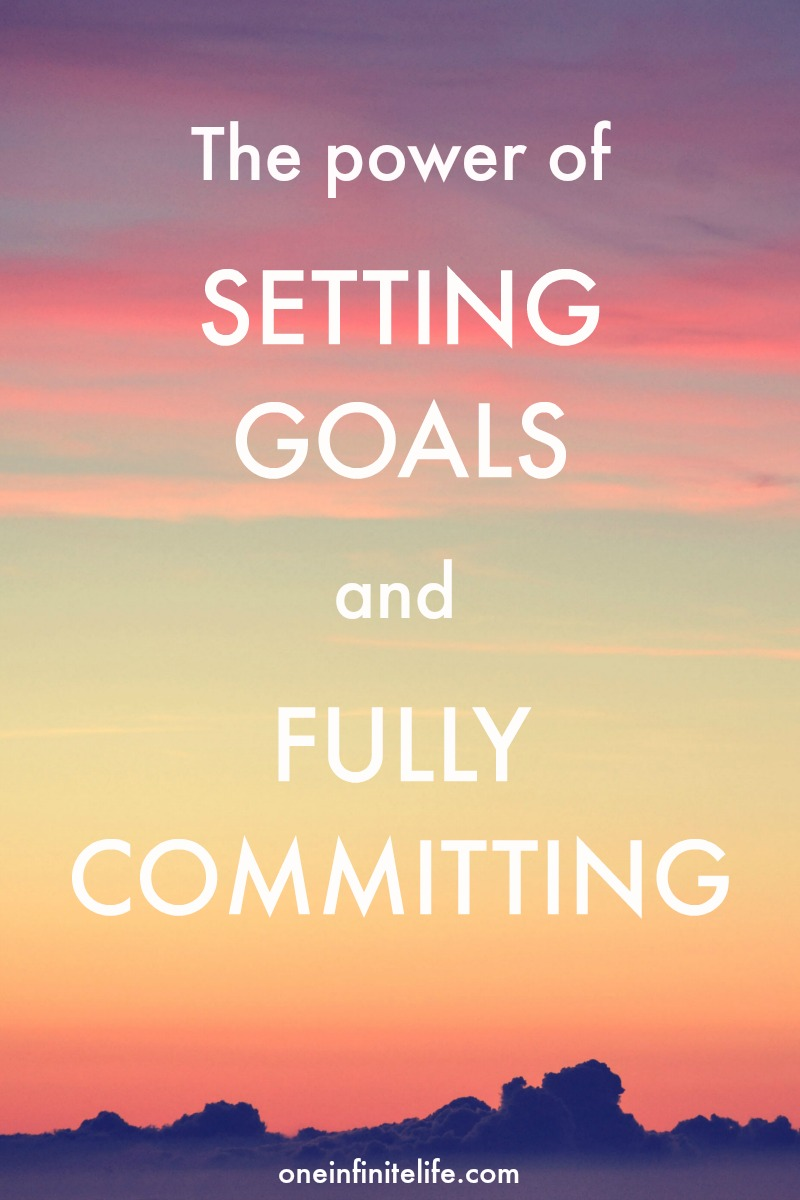 This is what happens when you set yourself a goal and FULLY COMMIT to it. Hint: You make more progress in 11 months than 7 years! https://oneinfinitelife.com/setting-goals-and-fully-committing/