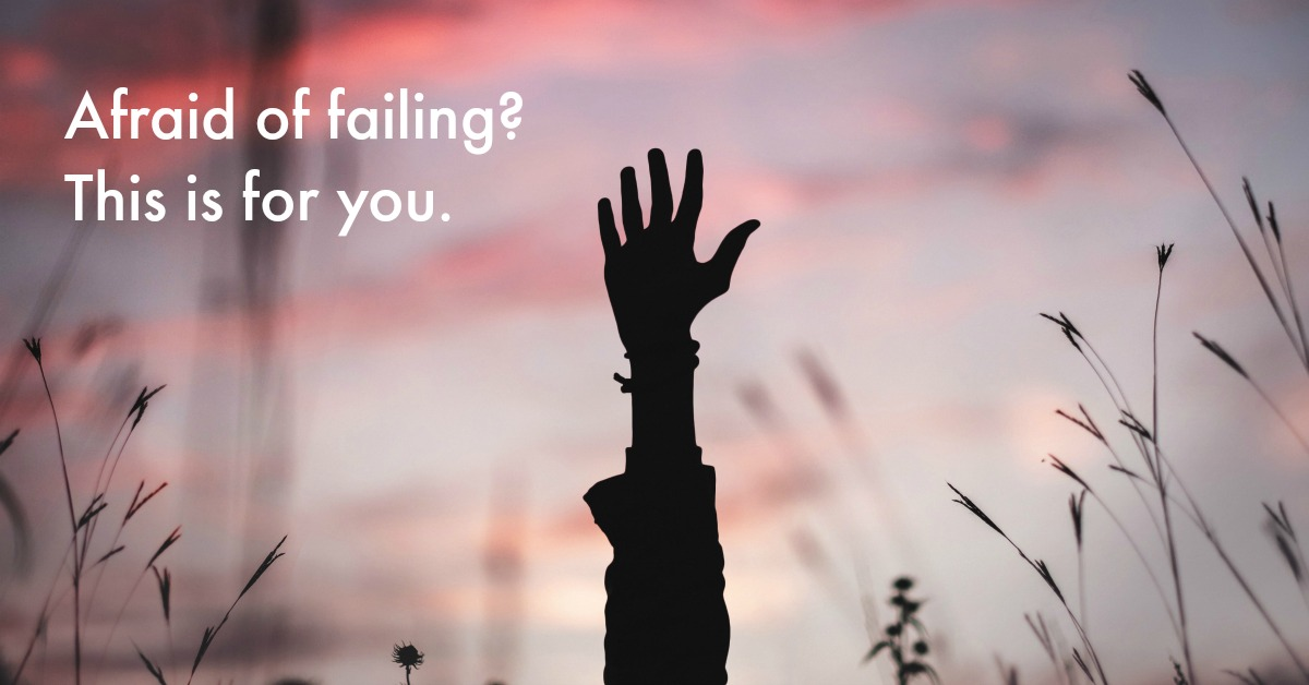 """I have big dreams and goals, but I'm so afraid of failing that I don't do anything to work towards them. How can I get over this?"" Sound familiar? Here are 3 ways to think about failure differently, so you can not let it hold you back anymore."