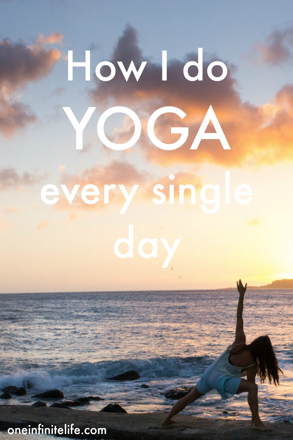 It all started with a 31 day yoga challenge... Which turned into a challenge to do yoga every day for a year. It's now been 213 days and here's how I've made this a daily habit in my life (plus these 4 tips are relevant to creating any sort of habit!) https://oneinfinitelife.com/how-i-do-yoga-every-day/