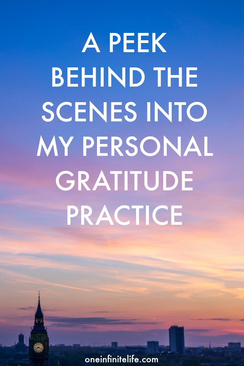 Want behind-the-scenes insights into my gratitude practice? This is for you!