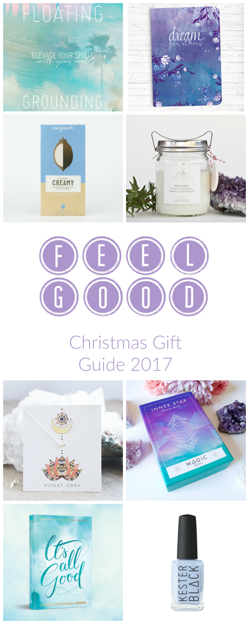 FEEL GOOD CHRISTMAS GIFT GUIDE FOR 2017. With 23+ ideas for feel-good, empowering and unique gifts for the awesome humans in your life! https://oneinfinitelife.com/christmas-gift-guide-2017/
