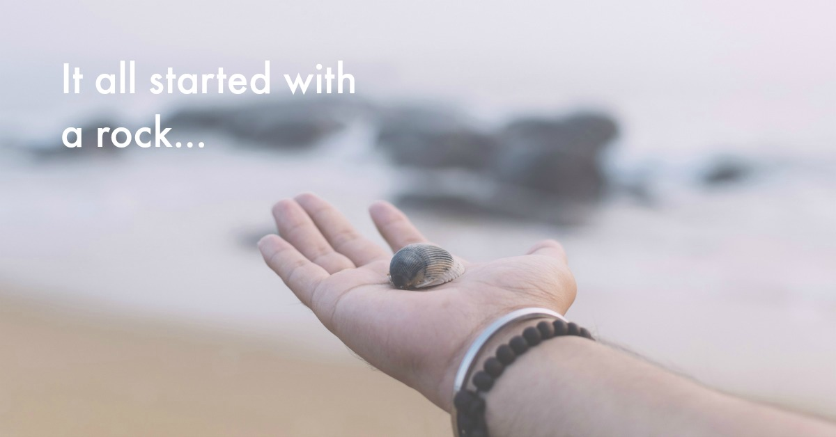 My gratitude practice began with a rock (yep, really!) here's how...