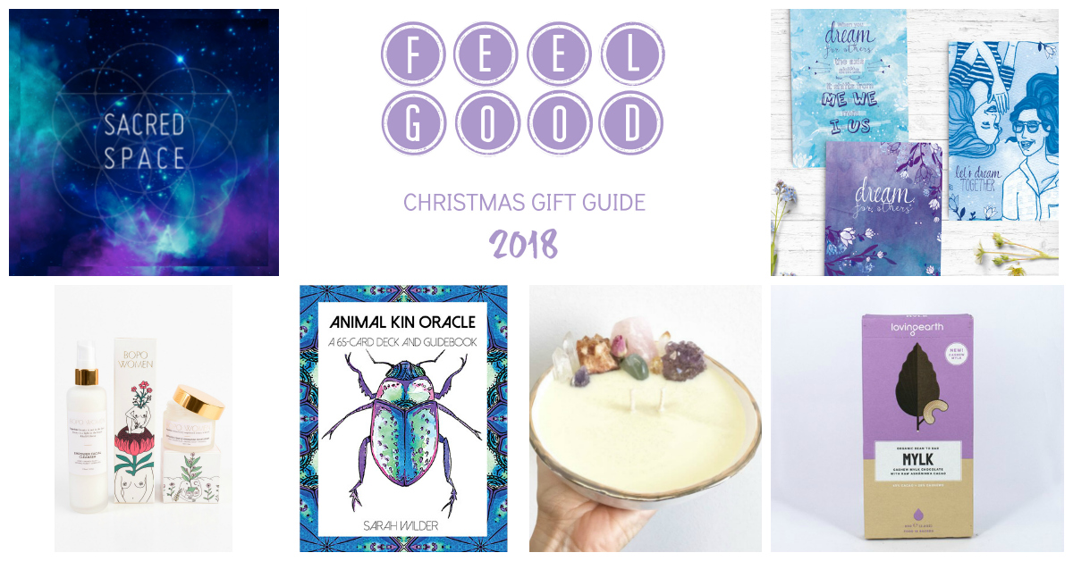 Feel Good Christmas Gift Guide 2018 https://oneinfinitelife.com/christmas-gift-guide-2018/