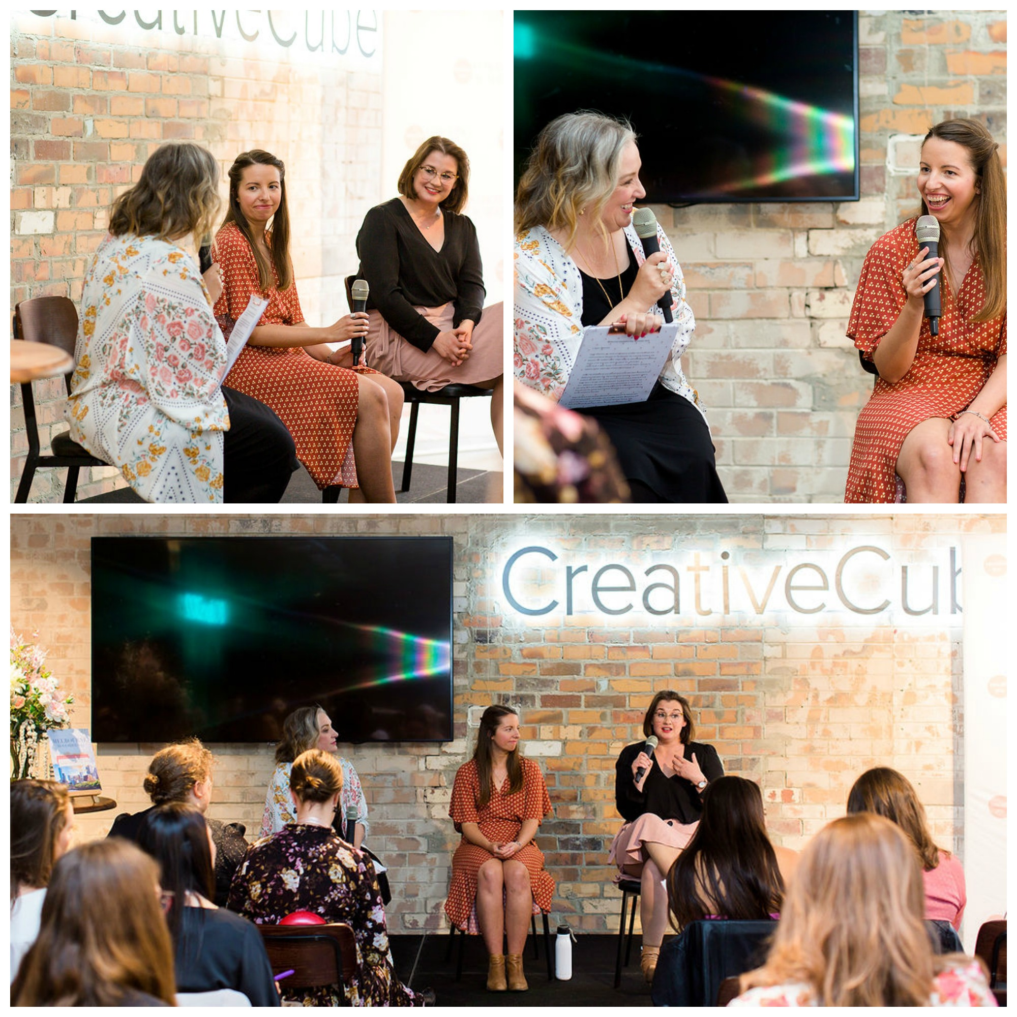 The Gratitude Panel at the Beautiful You Inspiration Day Melbourne 2019