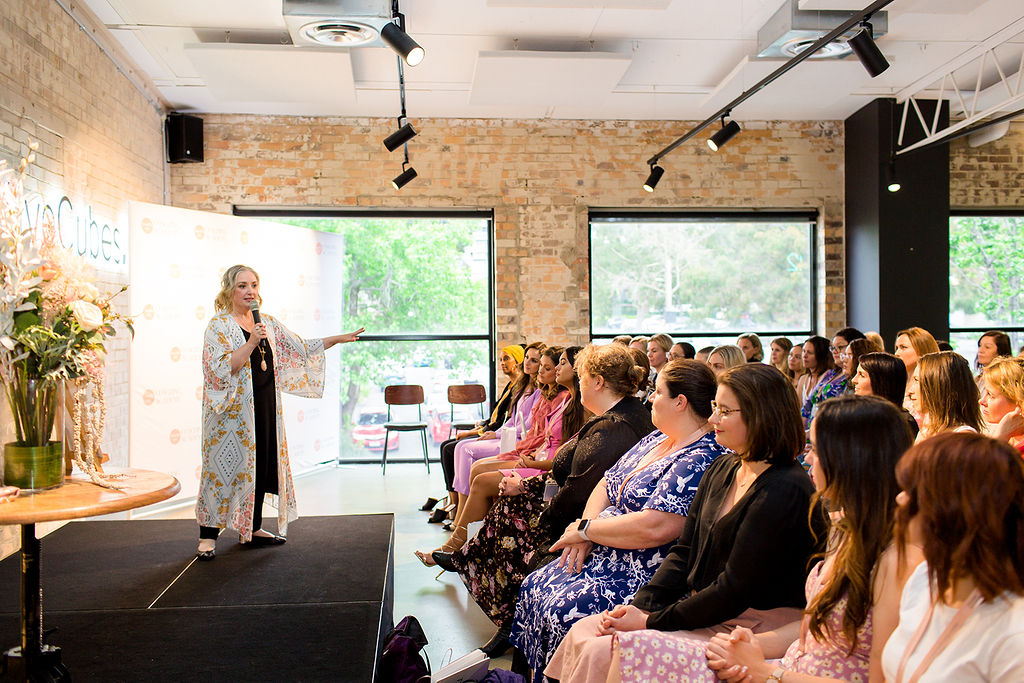 Julie Parker at Beautiful You Inspiration Day Melbourne 2019